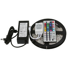 SMD 5050 RGB LED Strip Light Waterproof 44 key Remote Control, PS (Complete Set)