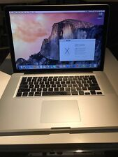 "Apple MacBook Pro 15"" Core i5 2.4Ghz  Mid 2010 A1286 8GB RAM 500GB HDD"