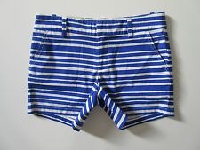 NWT Tommy Hilfiger Nautical Blue & White Striped Textured Stretch Shorts 4
