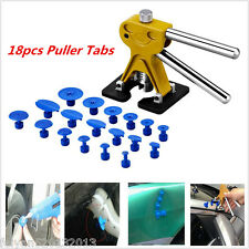Car Body Paintless Dent Lifter Repair Removal Tool Kit Puller Lifter W /18 Tabs