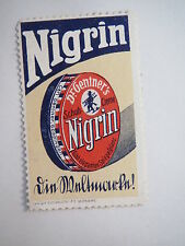 Dr. Gentner's Schuh-Creme - Nigrin / Reklamemarke