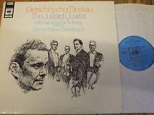 CBS 72687 Schoeck / Barber / Fischer-Dieskau / The Juilliard Quartet