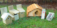 Hedgehog House & ONE Bird Nesting Box Plus ONE Bird Feeder