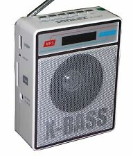 SONILEX  X-BASS SL-413 FM PORTABLE FM TRANSISTOR/RADIO/USB/SD MP3 PLAYER+DISPLAY