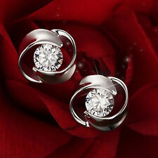 Chic Fashion Silver Plated  Korea Style Beautiful Love Earings Jewelry