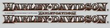 harley davidson motorcycle exterior 2 decal kit sticker graphic bike rear window