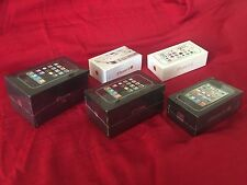 5 APPLE IPHONES 1ST GEN 8GB, 2ND GEN 3G, 3RD GEN 3GS + BONUS 4S & 5S ALL SEALED!