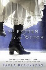 The Return of The Witch by Paula Brackston Hardcover 2016 First Edition
