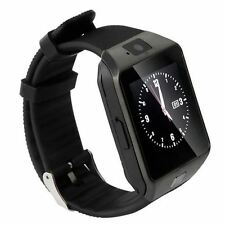 DZ09 Bluetooth Montre SmartWatch téléphone GSM Card SIM iPhone Android all black