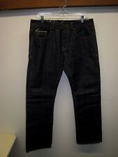 NWOT Cult of Individuality Japanese Denim Hagen Relaxed Jeans Selvage #607-111R