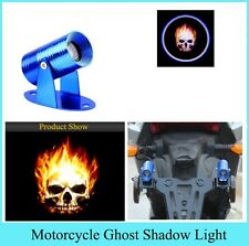 Universal Ghost Rider Skull Logo Projection LED Laser For Bajaj Pulsar 220F