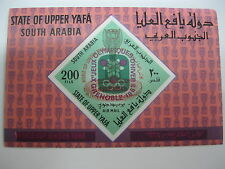 Aden-Upper Yafa -1967 olympic-Soccer-football-s/s-MNH