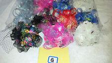 Job lot 12 pcs Small Hat Design Hair Fascinator on Hairclip NEW wholesale Lot G