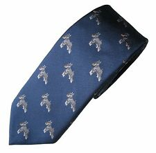 Schnauzer Necktie Dog Breed Animal Woven Silk Mens Attire Clothing Accessory Tie