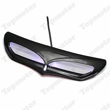 Black Fairing Vent Trim with LED Accent Light For Harley Touring FL 2014-2016
