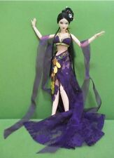 Barbie doll cloths vintage traditional Chinese dancing dress handmade girl gift