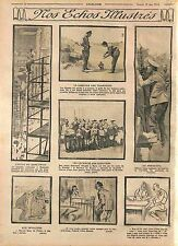 Tea Samovar Soldiers Periscope Imperial Russian Army/Vacances Alsace WWI 1915