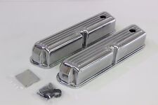 FORD WINDSOR 289-302-351 ALLOY ROCKER COVERS FINNED STYLE WITH GROMMETS