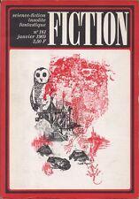 Revue Fiction N°181 - Wyndham, Walther, Klein, Deblander... - Janvier 1969