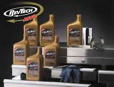 REVTECH SYNTHETIC SAE 20W50 HARLEY MOTORCYCLE OIL CASE 12 QUARTS