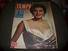 TEMPO N.13 DEL 1 APRIL 1954 - ROSSANA COME ELENA - BUONO