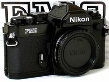 ** NEW  ** NEVER USED ** Nikon FM2N 35mm SLR Black Camera Body