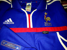 jersey FRANCE adidas 1998/99 size xl blue perfect condition