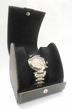 S.U.G. MEN'S SHAKEDOWN CHRONOGRAPH STAINLESS STEEL WATCH  BROWN W/ CASE **