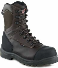 3248 RED WING MEN'S 9-INCH SAFETY BOOT BROWN (UK 8)