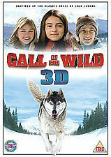 CALL OF THE WILD 3D DVD FILM MOVIE CLASSIC FAMILY FILM 3D KIDS WOLF PG + GLASSES