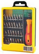 Set of 32 in 1 interchangeable precision screwdriver pieces pcs repair tool kit