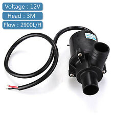 12V DC Submersible Brushless Water Pump for Fountain Pond Aquarium Fish Tank 3M