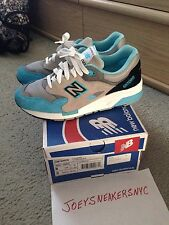 New Balance 1600 Elite Sz8 Cyan  Ronnie Fieg Kith Cncpts Rare Packer 997 998 999