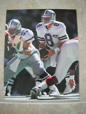 Troy Aikman Dallas Cowboys Football NFL Color Candid Coffee Table Book Photo