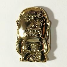 THE IDOL Gold Metal lapel pin indiana jones raiders of the lost ark