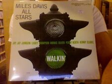 Miles Davis All Stars Walkin' LP sealed vinyl RE reissue