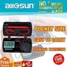 Mini Pocket LCD Digital Multimeter DC/AC Voltmeter DC Ammeter Tester US Ship