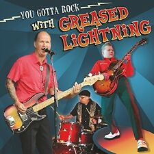 GREASED LIGHTNING - YOU GOTTA ROCK WITH  VINYL LP NEU