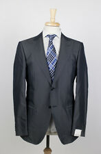 NWT. CARUSO Gray Silk Blend 2 Button Suit 50/40 R $2295