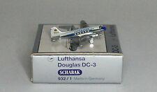 Schabak Douglas C-47B-DK Lufthansa 1st version in 1:600 scale