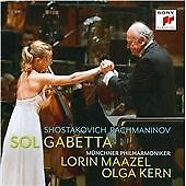 Sol Gabetta: Shostakovich/Rachmaninov CD NEW