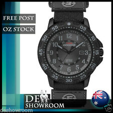 Timex Men's Expedition Watch Velcro Strap, Indiglo, Date, T49997 -Free Shipping