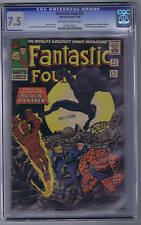 Fantastic Four  #52 Marvel 1966 CGC 7.5 (VERY FINE -)