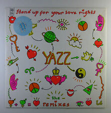 "12"" Maxi - Yazz - Stand Up For Your Love (The Remixes) - L5778h - orange Vinyl"