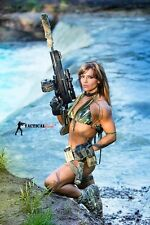 2017 TACTICAL GIRL CALENDARS- Several months signed