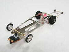 Parma EDGE #452 less motor Complete Rolling 1/24 Drag Slot Car- less body