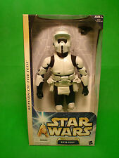 "Star Wars 12"" Biker Scout Return of the Jedi Hasbro figure NEW vintage"