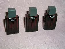 """Genuine GIVENCHY MEN MINI TRIO(3) """"XERYUS ROUGE"""" Three@ 4ml(.13 oz)ea. FRANCE"""