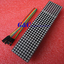 MAX7219 dot matrix module Arduino microcontroller module 4 in one display M75