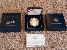 2009 P Abraham Lincoln Commemorative Silver Proof Dollar w/OGP Box & COA